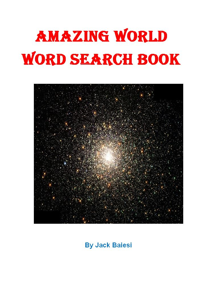 Amazing World Word Search